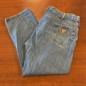 CARHARTT Traditional Fit 100% Cotton Work Jeans